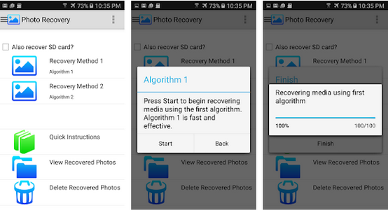 photo recover app android