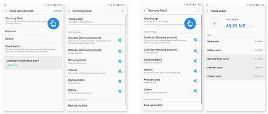 recover photos from samsung cloud