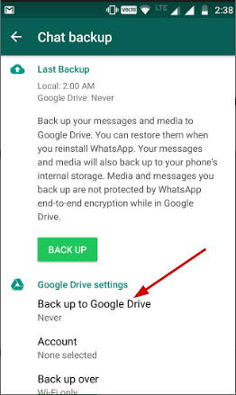 whatsapp backup from google drive to iphone