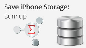 save storage iphone